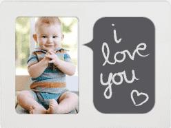 PEARHEAD Detský fotorámik Baby Talk