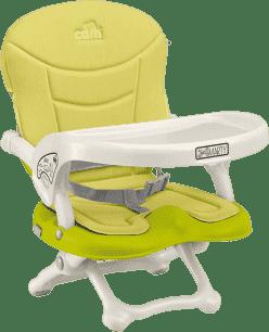CAM Krzesełko do karmienia SMARTY z wyściełaniem – zielone