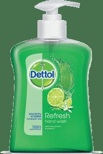 DETTOL Antybakteryjne mydło w płynie Refresh 250 ml