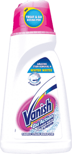VANISH Oxi Action Bílý 1,5 l – odstraňovač skvrn