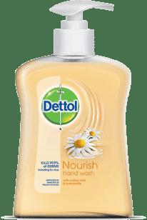 DETTOL Tekuté antibakteriální mýdlo – Zjemňující (250 ml)