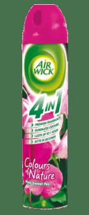 AIRWICK Spray 4in1 Růžové květy středomoří 240 ml