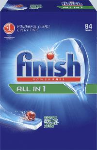 FINISH PB Tabs All-in-1 Regular 84 ks