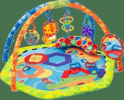 BRIGHT STARTS Deka podporující vývoj s hrazdou a hračkami Play-O-Lot Activity Gym™
