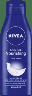 NIVEA Výživné telové mlieko Body Milk 250ml
