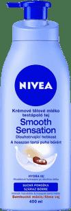 NIVEA Krémové tělové mléko Smooth Sensation 400ml