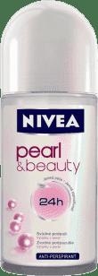 NIVEA Guľôčkový Antiperspirant Pearl a Beauty 40ml
