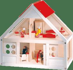 BINO Domeček pro panenky, 26 dílů