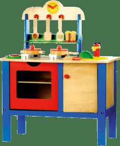 BINO Kuchnia dla dzieci z wyposażeniem