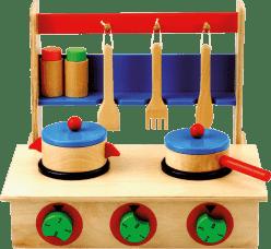 BINO Detský varič s príslušenstvom - 7 dielov