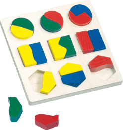 BINO Puzzle – kształty geometryczne