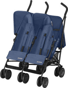 KOELSTRA Dvojčatový golfový kočárek Simba Twin T4 – Marine Blue
