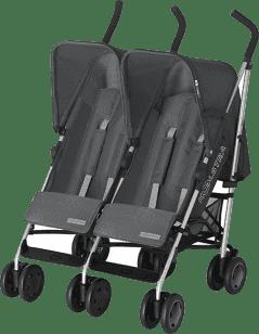 KOELSTRA Wózek spacerowy dla bliźniąt Simba Twin T4 – Grey