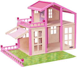 WOODY Domček pre bábiky