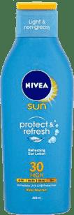 NIVEA Sun Chladivé mlieko na opaľovanie OF 30