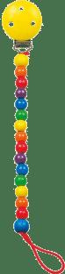 BINO Šnúra na cumlík-Colori