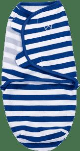SUMMER INFANT Otulacz SwaddleMe S niebieskie paski