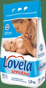 LOVELA Sensitive 1,9kg - prací prostředek