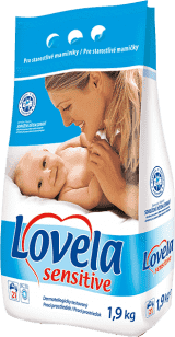 LOVELA Sensitive 1,9kg - środek do prania
