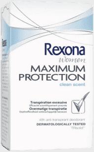 REXONA deo stick Maximum Protection Clean Scent 45ml (antiperspirant)