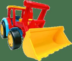 WADER Auto Gigant nakladač – plast WADER