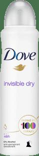 DOVE deo spray Invisible Dry 150ml (antiperspirant)