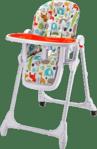 PETITE&MARS Krzesełko do karmienia Zola – pomarańczowe