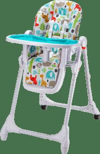 PETITE&MARS Jídelní židlička Zola – modrá