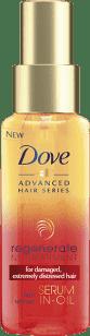 DOVE ľahký olej na vlasy 100ml (Všetky typy vlasov)