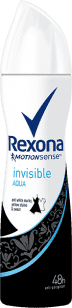 REXONA deo spray Invisible Aqua 150ml (antiperspirant)
