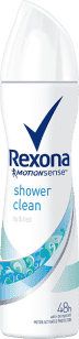 REXONA deo spray Shower Clean 150ml (antiperspirant)