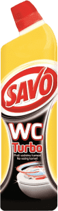 SAVO WC čistič Turbo 750ml