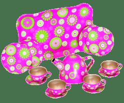 WOODY Čajová souprava v kufříku – Trendy
