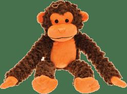 MIKRO TRADING Opice oranžová 56cm