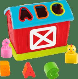 BRIGHT STARTS, Zabawka domeczek – segregowanie kształtów, 12m+