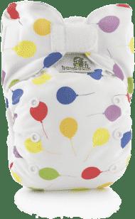 BAMBOOLIK Látková plienka AIO Stay Dry, balóniky