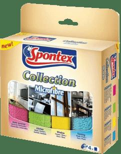 SPONTEX Mikroutěrky Collection, 4 ks