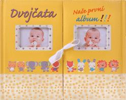 KNIHA Dvojčata Naše první album (CZ)