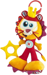 BABYMOOV Závesná hračka Levík Zumba Daboom