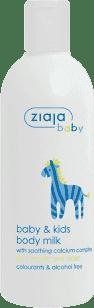 ZIAJA Baby telové mlieko pre deti 300ml