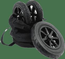 VALCO Sportowy zestaw kół do wózka SNAP 4 (pompowane)