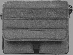 MUTSY Prebaľovacia taška Igo Reflect White & Black