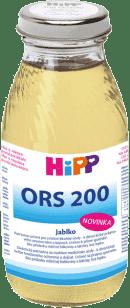 HIPP ORS 200 Jablko - rehydratační výživa 200ml