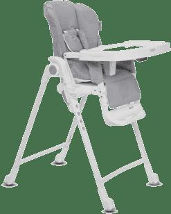 INGLESINA Polohovacie stolička Gusto strieborná