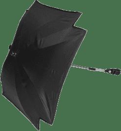 ZOPA Slunečník čtvercový + UV, černá