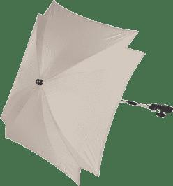 ZOPA Slnečník štvorcový + UV, krémová