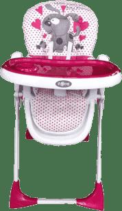 ZOPA Detská stolička Primo, Pinkdog