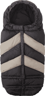 7 A.M. ENFANT Fusak do kočíka 3v1 Blanket 212 Chevron, Black/Beige