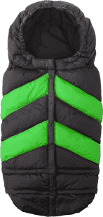 7 A.M. ENFANT Śpiworek do wózka 3w1 Blanket 212 Chevron, Black / Green