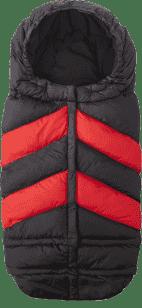 7 A.M. ENFANT Fusak do kočárku 3v1 Blanket 212 Chevron, Black / Red